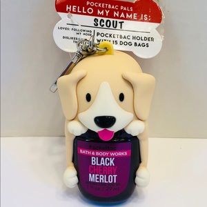 NWT BBW PocketBac Pal Holder with Dog Bags